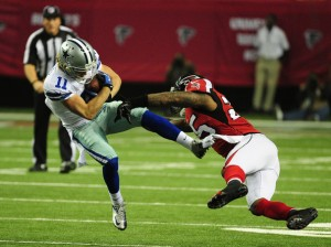 William Moore has been one of the best safeties in the league this year. (Scott Cunningham)