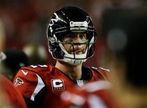 Matt Ryan's shoulder injury isn't serious. (David Goldman)