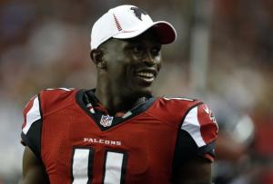 Although he didn't put up the stats I thought he would, Julio Jones still had a great year. (Josh D. Weiss)