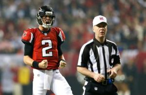 According to Jaws, Matt Ryan is a top five quarterback. (Kevin C. Cox)