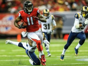 Julio Jones could be poised for another huge game. (Daniel Shirey)