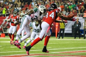 Roddy White's streak of 133 consecutive games will end this Sunday. (Daniel Shirey)