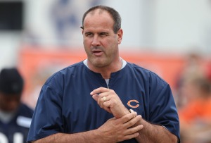 The Falcons offensive line will be undoubtedly better in 2014 with the hiring of Mike Tice.(Jonathan Daniel)