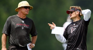 The extensions reiterate Arthur Blank's support in Mike Smith and Thomas Dimitroff. (Paul Abell)