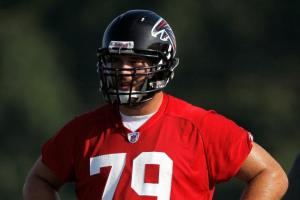 At the very least, Mike Johnson will bring competition to the right tackle spot. (Kevin C. Cox)