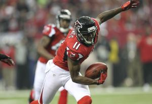 It took a little while, but the Falcons exercised Julio Jones' fifth-year option. (Daniel Shirey)