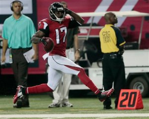 Devin Hester turned in a record-breaking night. (John Bazemore)