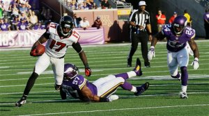 Devin Hester status is questionable heading into Sunday's game against his former team.(Ann Heisenfelt)