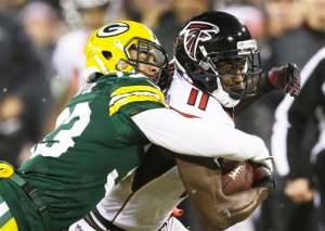 Julio Jones turned in another monster game. (Tom Lynn)