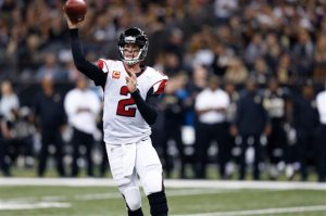 Matt Ryan has thrown for over 300 yards in three straight contests. (Rogelio Solis)